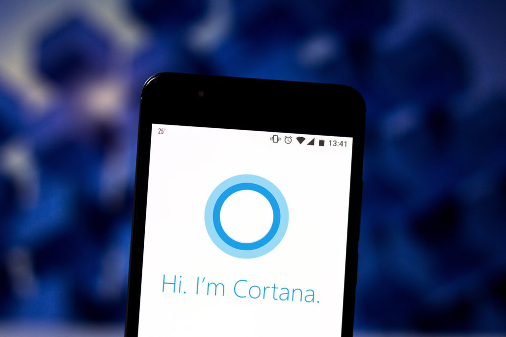 Cortana removed from ios